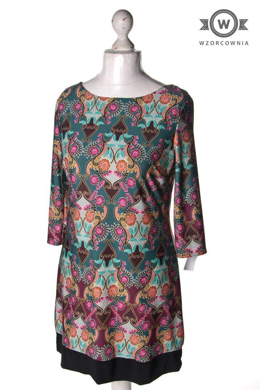 >> #Sukienka/tunika w piękne wzory #Wzorcownia online - | #Atmosphere #dress