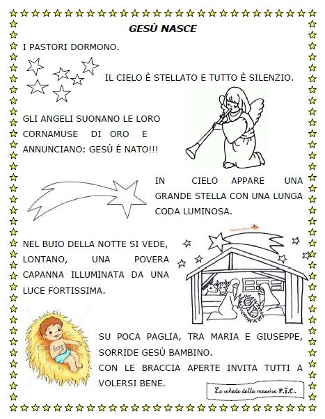 73 best le schede della maestra p i c images on pinterest for Schede didattiche natale maestra mary