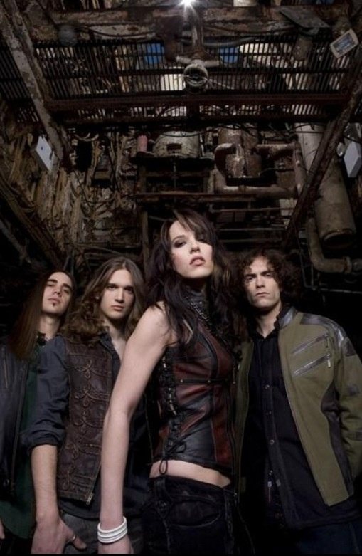 Halestorm - opener for Shinedown in 2009. Didn't know who they were at the time, but boy they kicked ass!!