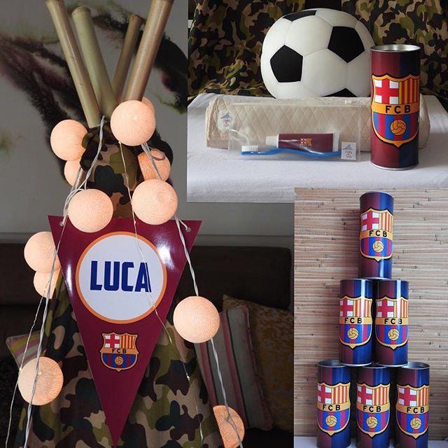 O Luca está eufórico!!! Ele e seus amigos curtirão muito o Acampamento do Barcelona!!!#festadopijama#festadoluca#sleepover#teepee#kids#kidsparty#boys#onlyboys#diversãogarantida #crazyfortents