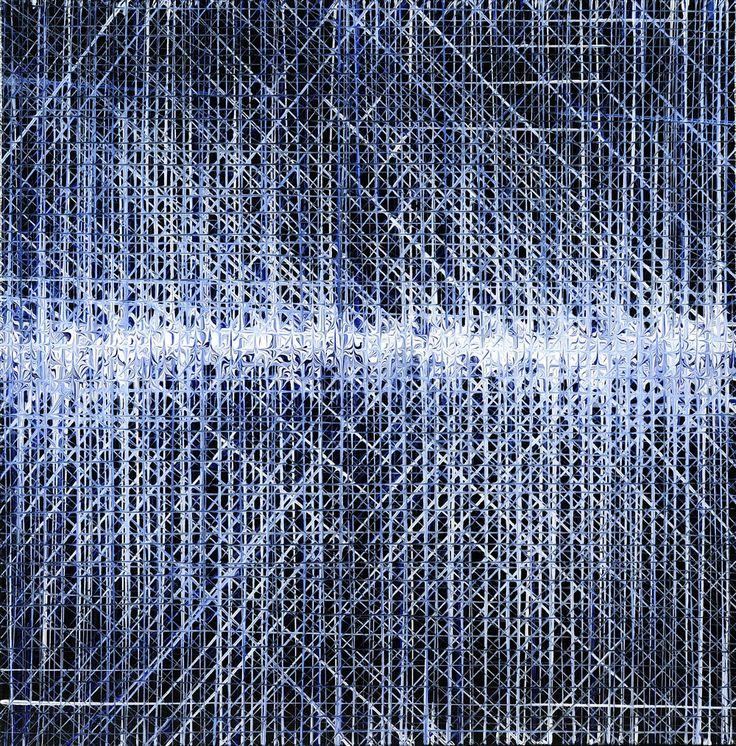 "Wilmer Herrison ""Reflejo Optico N°1"", Acrylic on canvas, 2011"