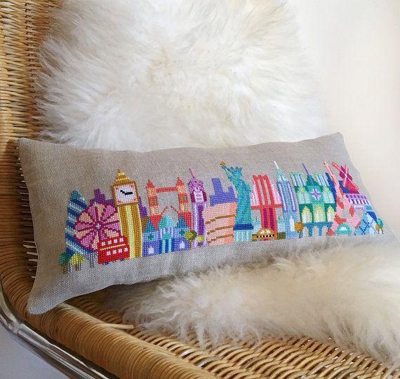 Mini Cities London Paris NYC Trio Satsuma Street modern