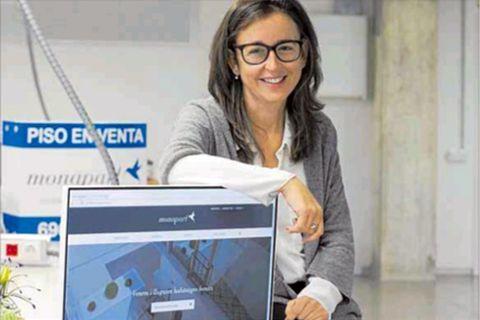 El domingo 11 de diciembre amaneció con esta noticia en el Diari de Tarragona donde se hacía eco de la apertura en la ciudad unos meses atrás de la agencia Monapart Tarragona, liderada por la arquitecta Victòria Martí. · Diciembre 2016
