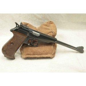 Walther PP canon long Fabrication Manurhin Ce pistolet est une arme d'une grande qualité de fabrication. Comme toutes les armes Manurhin. Il ne comporte pas de marque de chocs, ni de décoloration et a, visiblement, été bien soigné