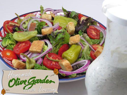Make Your Own Homemade Olive Garden House Dressing 4