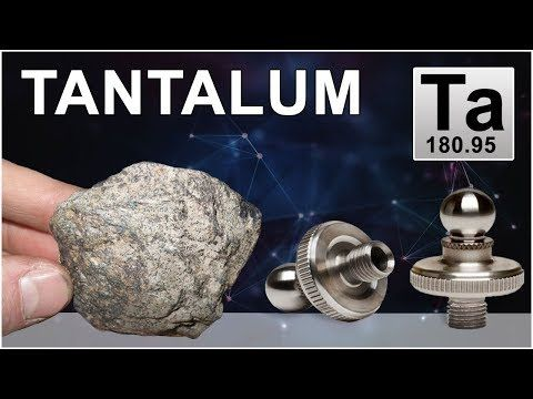 How Tantalum is made | Where Tantalum is Found | Tantalum Ta Element