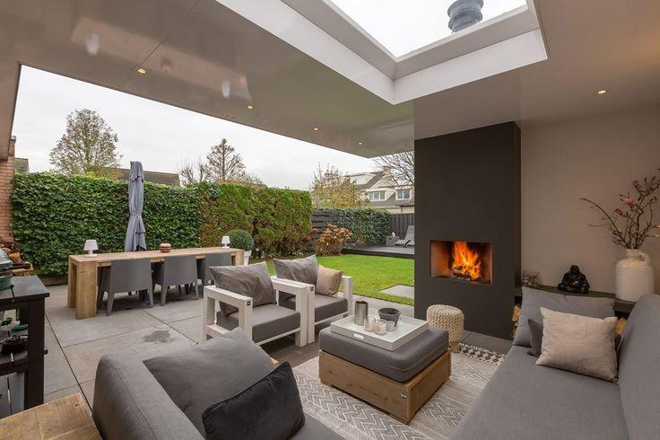25 beste idee n over veranda open haard op pinterest openhaard op de veranda rustieke for Huis open haard mantel
