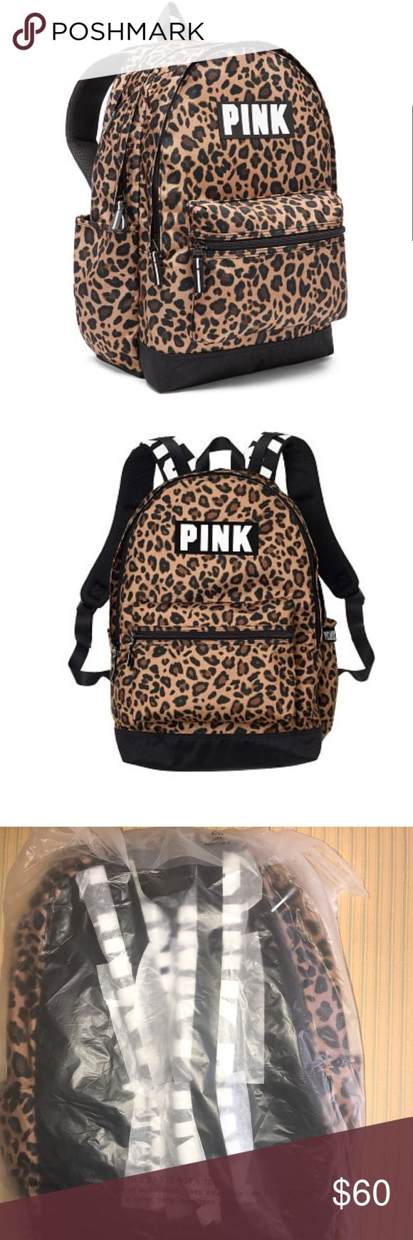 Just Added Pink VS Back Pack Bundle and Save ::: The one and only Campus Backpack! Durable and super cute, it's got plenty of pockets and tons of room to fit all your campus essentials. Comfy padded straps with mesh overlay for breathability  Zippered padded laptop sleeve fits 17'' laptop Exterior zip pocket Internal mesh pocket 18in x12in Velcro closure side pockets PINK Victoria's Secret Bags Backpacks