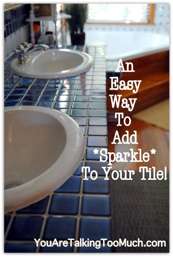 Quick and Easy way to make ceramic tile AND hardwood sparkle and shine! | You Are Talking Too Much