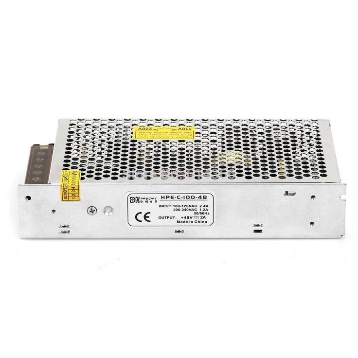 1pcs 100w 48v power supply 48v 2a led power supply 48v