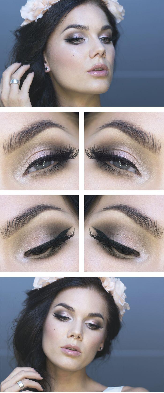 Mira este hermoso #look para lucir durante tu gran día. #Makeup