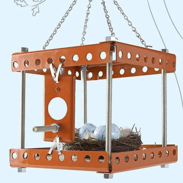 MAKE | Industrial Birdhouse