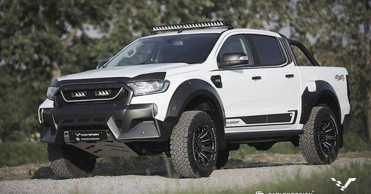 Ford Ranger M-Sport Looks Like A Baby Raptor #Ford #Ford_Ranger