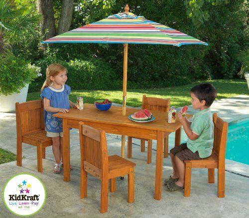 KidKraft My Woodland Patio Set $159.99 #topseller