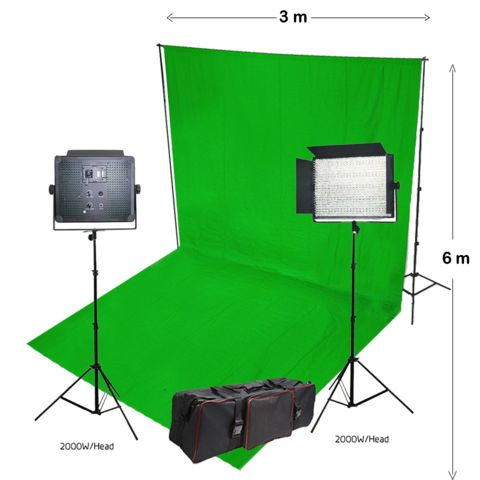 Chroma key green and chromablue backdrop, pop-up screen collection is available in multiple sizes, shapes with combination of different backdrop stands and photo/ video lighting.