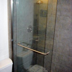 Acrylic Towel Bar For Glass Shower Door