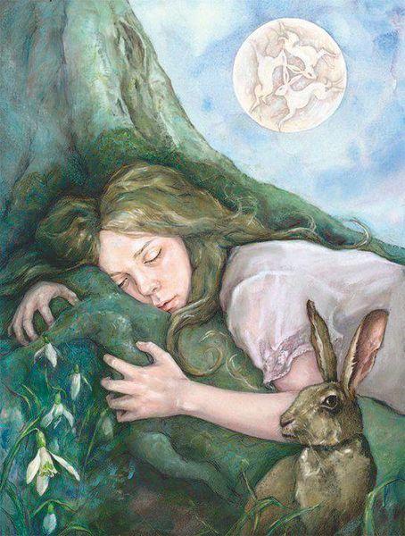 Julia Jeffrey ~ March Moon