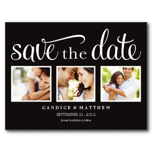 RETRO   SAVE THE DATE ANNOUNCEMENT POSTCARD #fineanddandypaperie