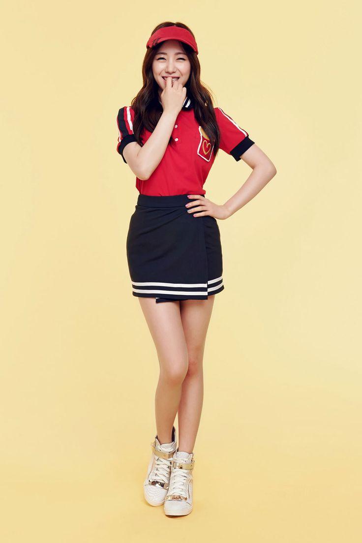 AOA Mina Short Hair mini album