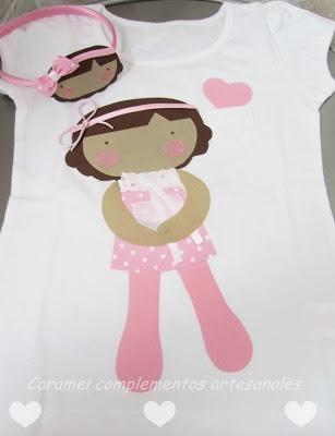 camiseta caramel