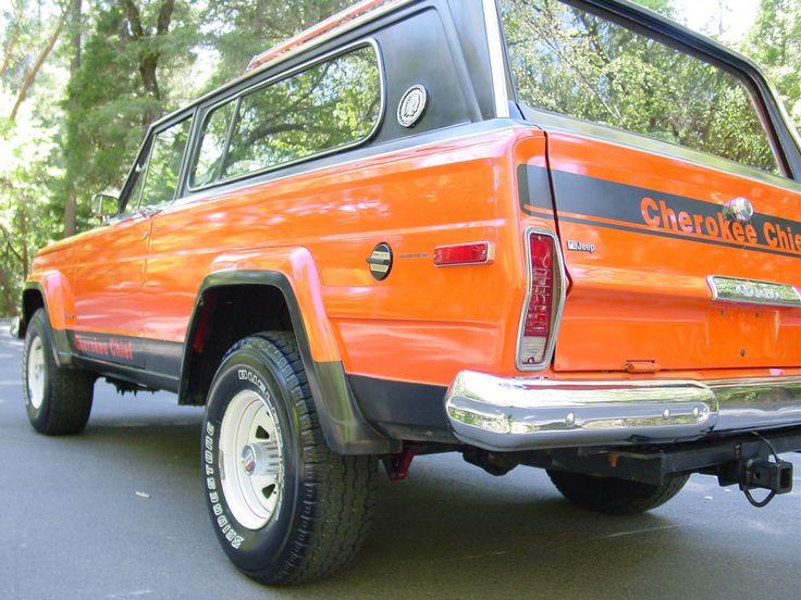 Northern California No Rust: Jeep : Cherokee CHIEF S NO RUST STOCK&ORIGINAL CALIFORNIA