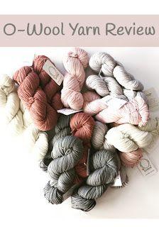 O-wool yarn review by Little Monkeys Design