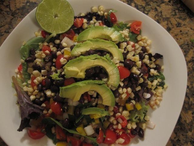 Kick S.A.S.S! Fiesta Salad