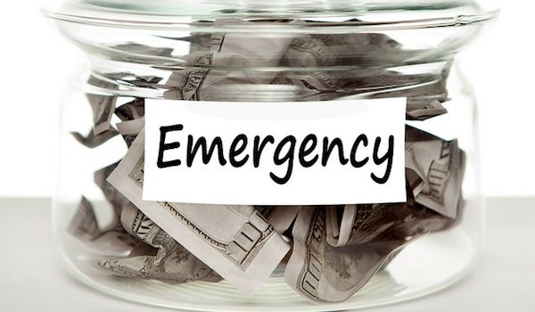 Can You Get Healthy By Creating An Emergency Fund? - The answer is a resounding yes!  Read my new blog post on creating an emergency fund for good health.