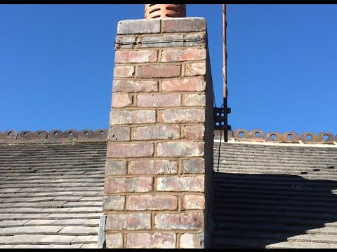 Extend Chimney Flue Liner Height on Existing Brick Masonry Stack - YouTube