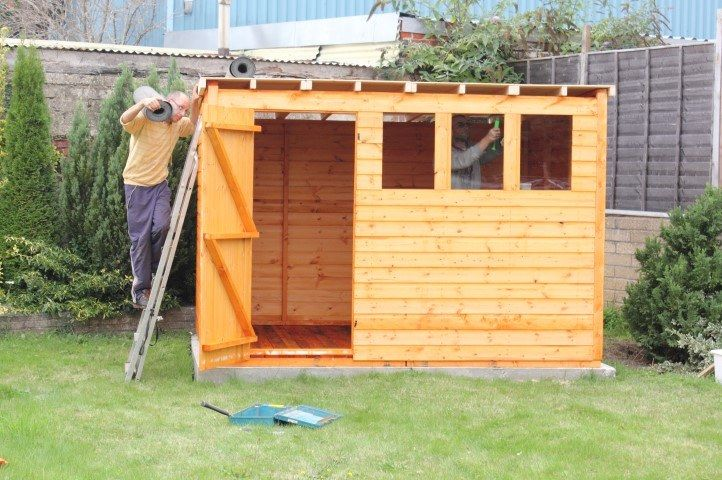 Shed Roof Designs and Ideas For Your Next Shed