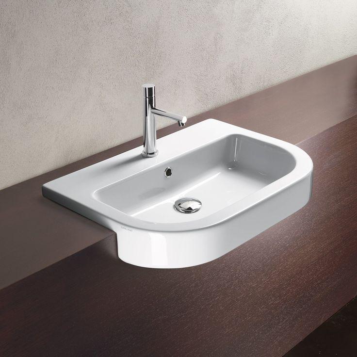 Catalano Zero Tondo Semi-Recessed Washbasin - Rogerseller