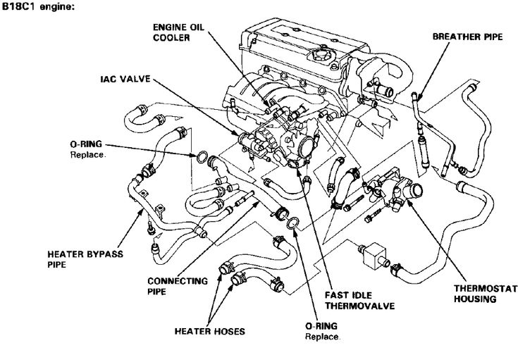 2007 honda accord intake manifold diagram