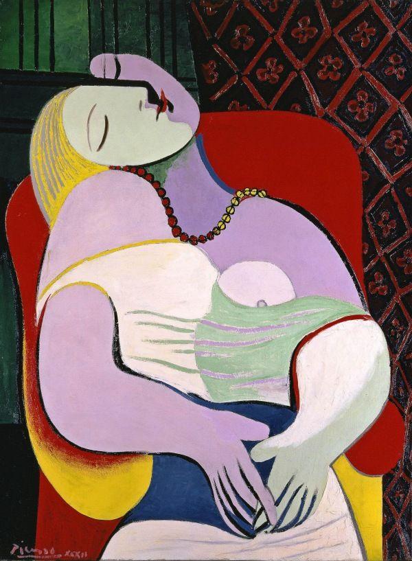 Pablo Picasso Le Rêve (The Dream) 1932, Collection particulière (Steve Cohen) © DACS 2017