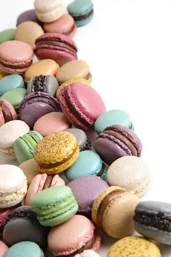.: Color Macaroon, How, Food, Macaroon, French Macaron, Doce Up, Delicious Sweet, Pastel Color, Macaroons