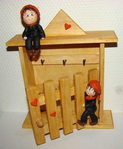 """Boîte à clés """"petits ramoneurs""""... - La Griffe d'Arnauton"""