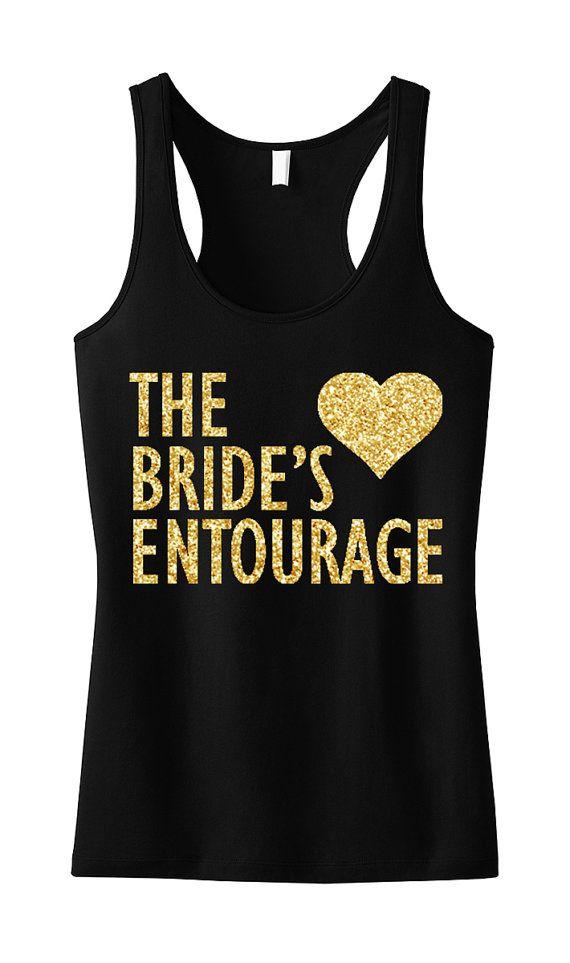 BRIDE'S ENTOURAGE #Wedding Tank Top