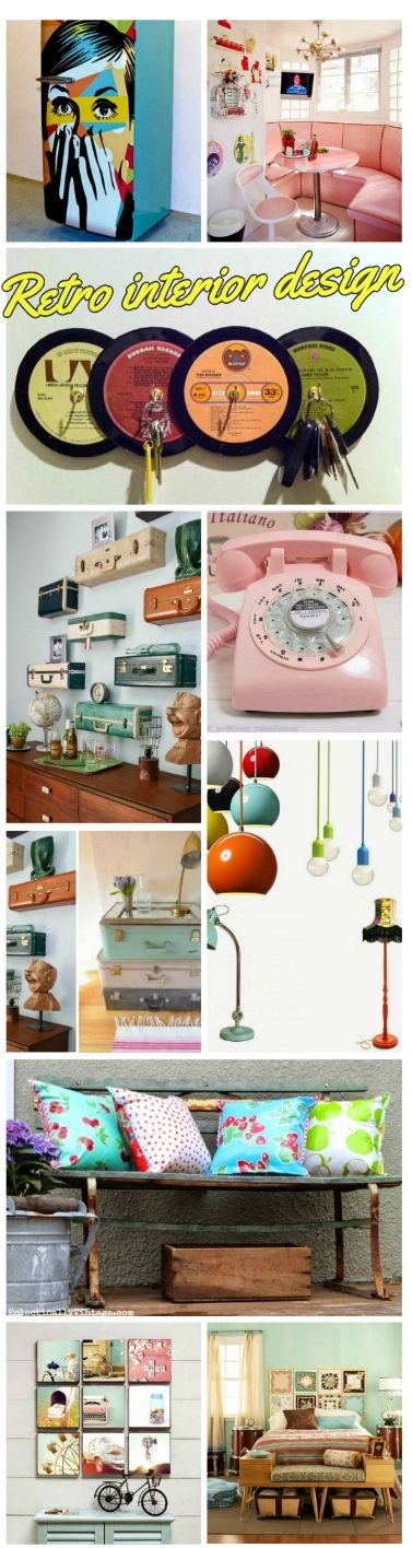 Decoration Ideas For Retro Interior Design Crafts Ideas Motivation