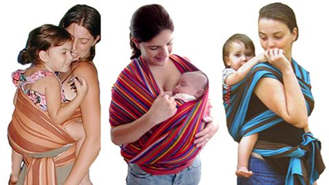 Wraparound Baby Carriers
