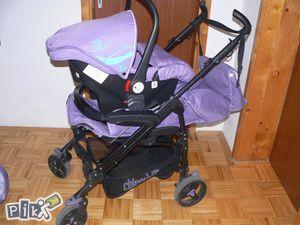 Djecija kolica + auto sjedalica od 0-6 mj - CHIPOLINO - Kolica Ilidža - PIK.ba