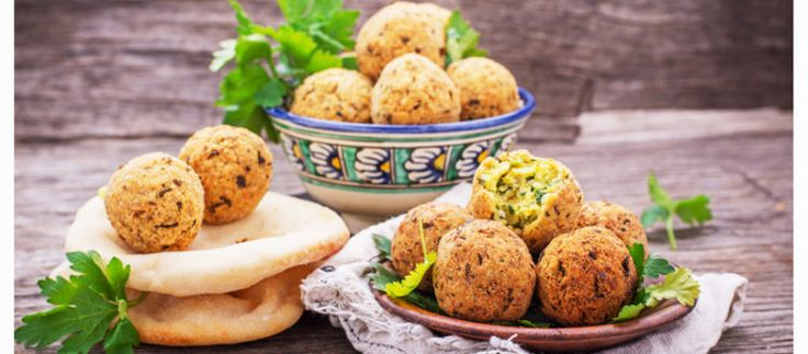 Falafel with Green bean salad - food4four