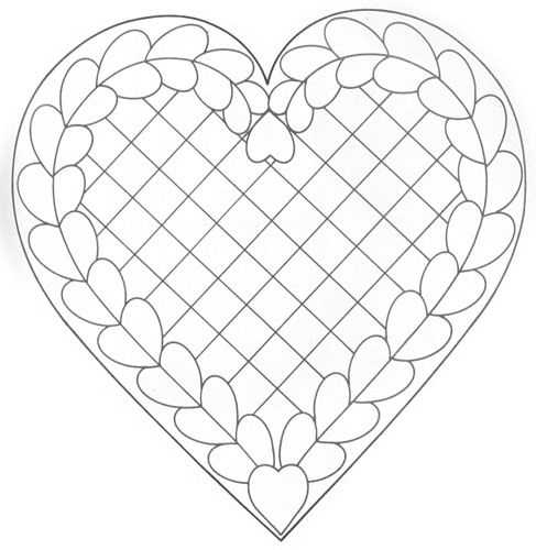 Hand Quilting Heart Patterns : 25+ best ideas about Heart Template on Pinterest Templates, Heart patterns and Valentine hearts