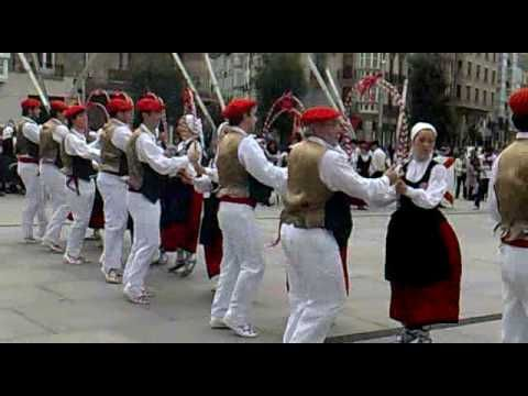 baile tipico de euskadi