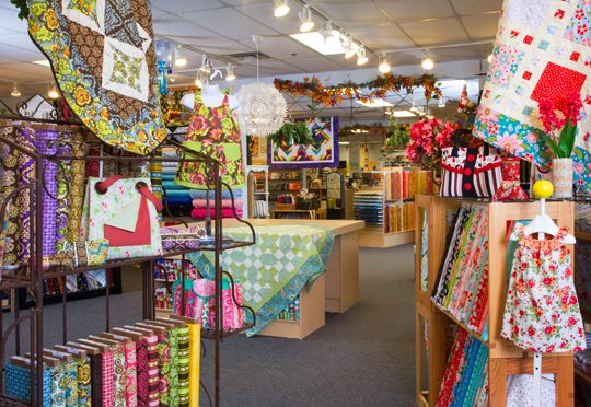 A Scarlet Thread, a quilting oasis in McDonough, Georgia, inspires customers to tap into their creativity.