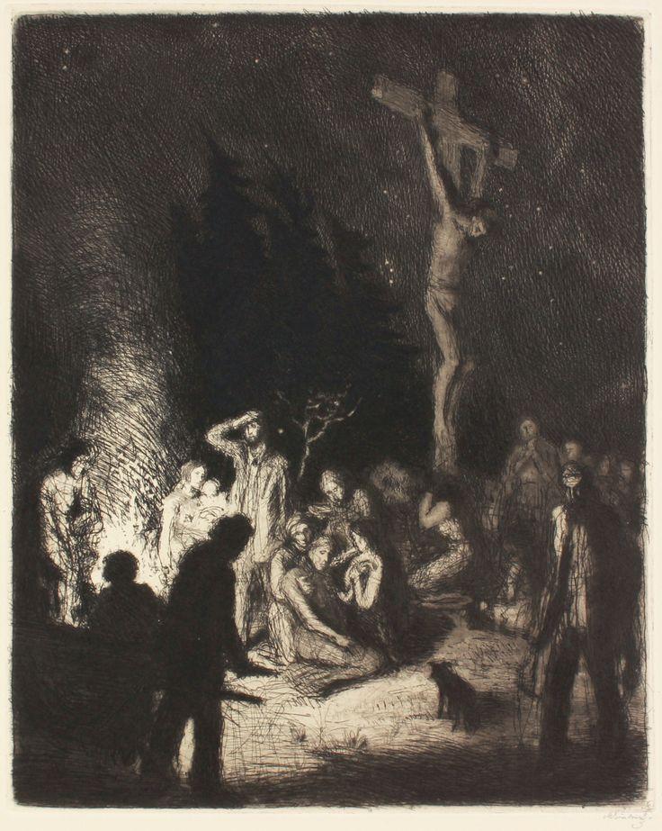 Detail díla - Před snímáním z kříže | Aukční síň Vltavín