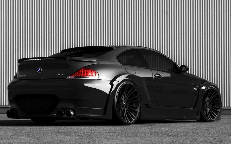 BMW M6 Dark Night Edition. A little ridiculous, but whaddyagonnado.