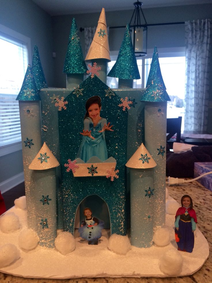 Frozen Castle Valentine's Day Box