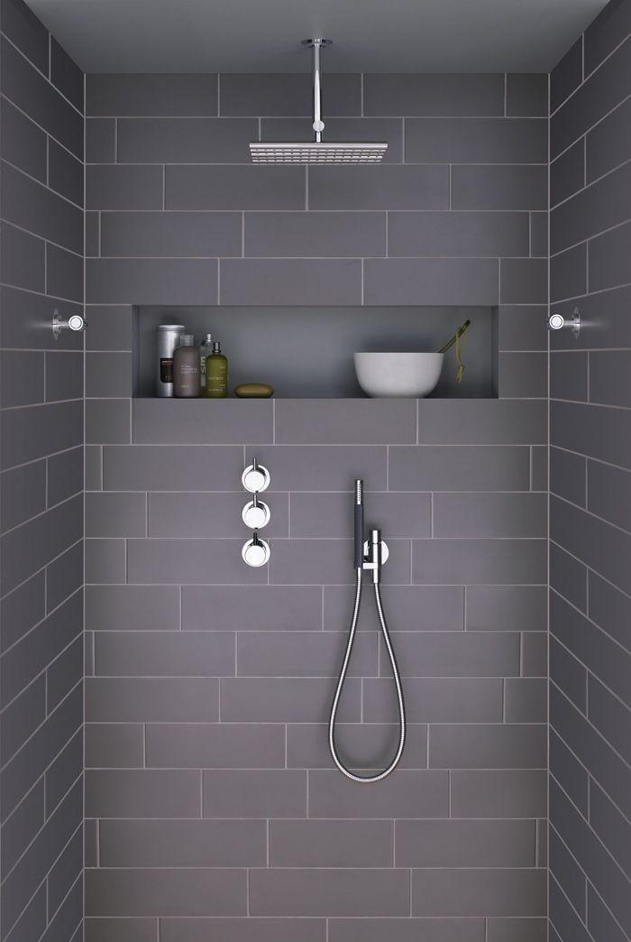 Les 25 meilleures id es tendance salle de bains douche pluie sur pinterest - Comment choisir sa colonne de douche ...