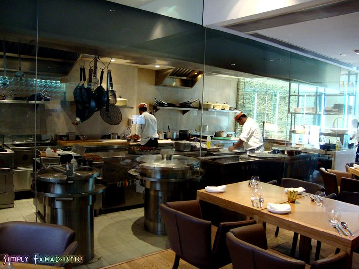 Semi open plan restaurant kitchen google search catering pinterest restaurant kitchen Kitchen design courses in london