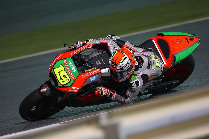 From Vroom Mag... Alvaro Bautista satisfied with Qatar practice times