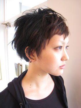 【髪型カタログ50】ベリーショートなヘアースタイル ①ソフトモヒカンベリーショート 蒼井優vs光宗薫 - NAVER まとめ